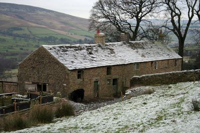 Hollins Farmhouse And Attached Barn Edale Derbyshire