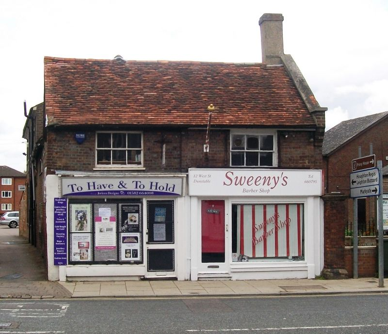 In Dunstable Bedfordshire: 12 And 14a, West Street, Dunstable, Central Bedfordshire