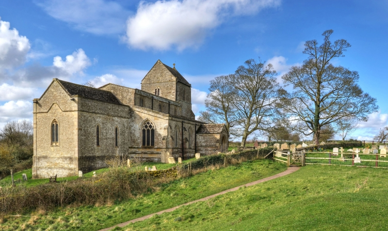 Church Of St Michael And All Angels Wadenhoe Peterborough Northamptonshire