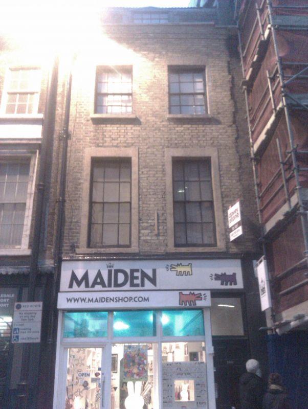 Shoreditch High Street: 187-189, Shoreditch High Street E1, Hackney, London