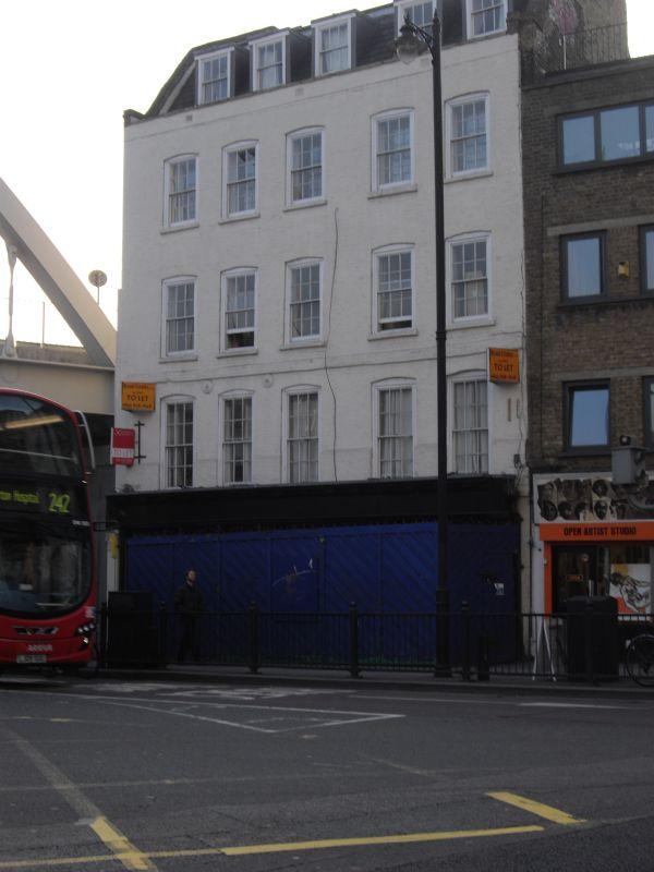 Shoreditch High Street: 196, Shoreditch High Street E1, Hackney, Hackney