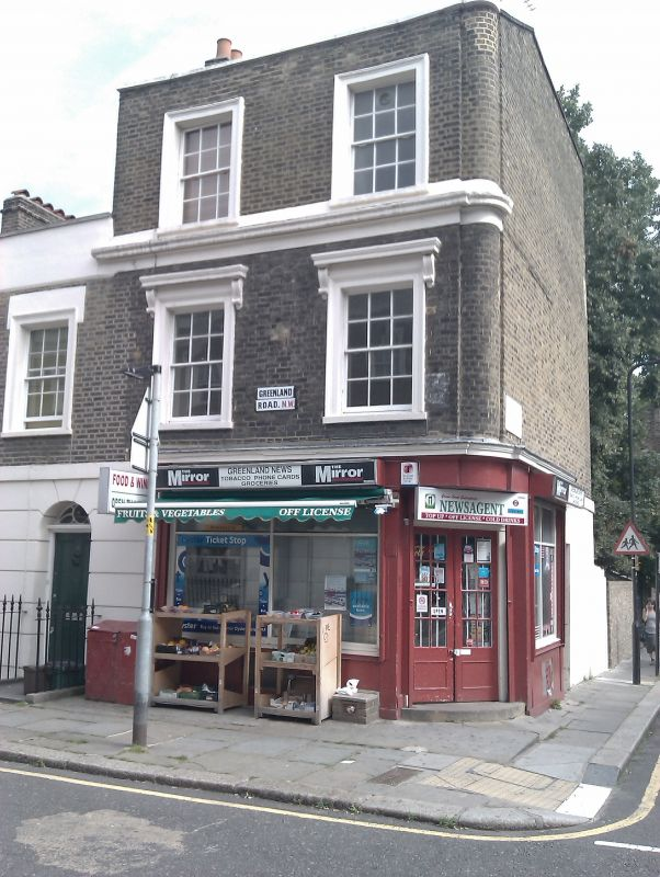 Camden Town: 14, Greenland Road, Camden Town With Primrose Hill, London