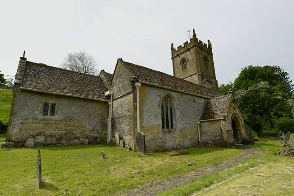 Church Of St Oswald Compton Abdale Gloucestershire