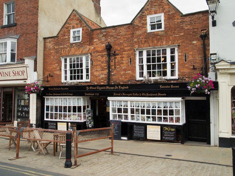 The Oldest Chemist Shop in England, Knaresborough, North