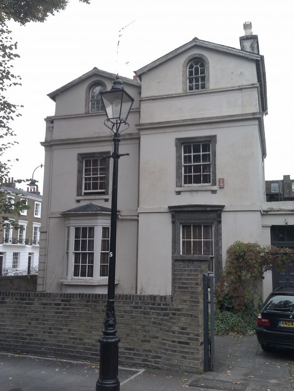 Camden Town: 23, Gloucester Crescent, Camden Town With Primrose Hill